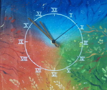 Painted clocks