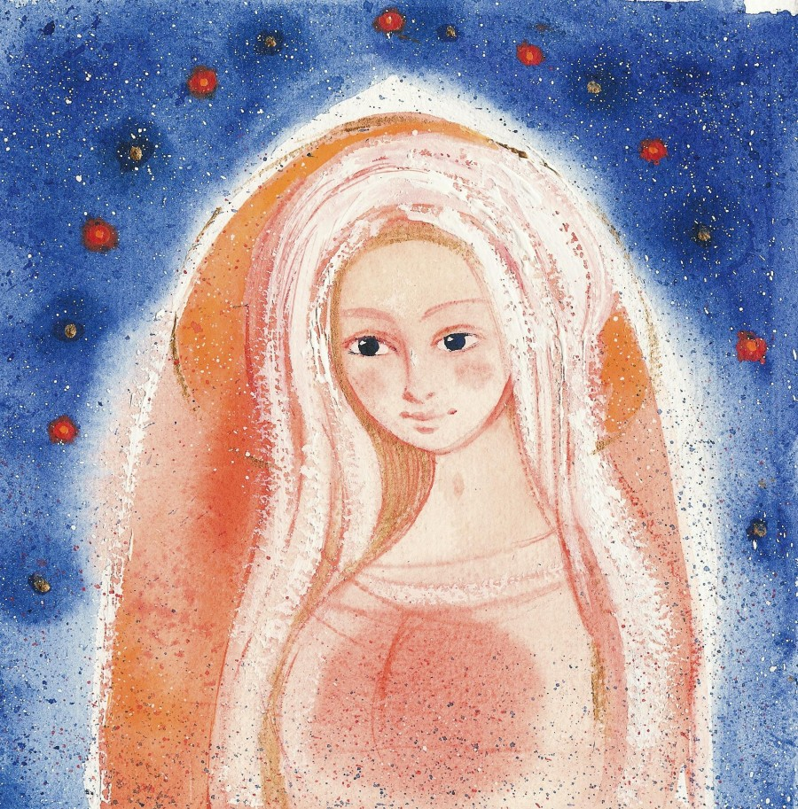 Akvarely – Madony