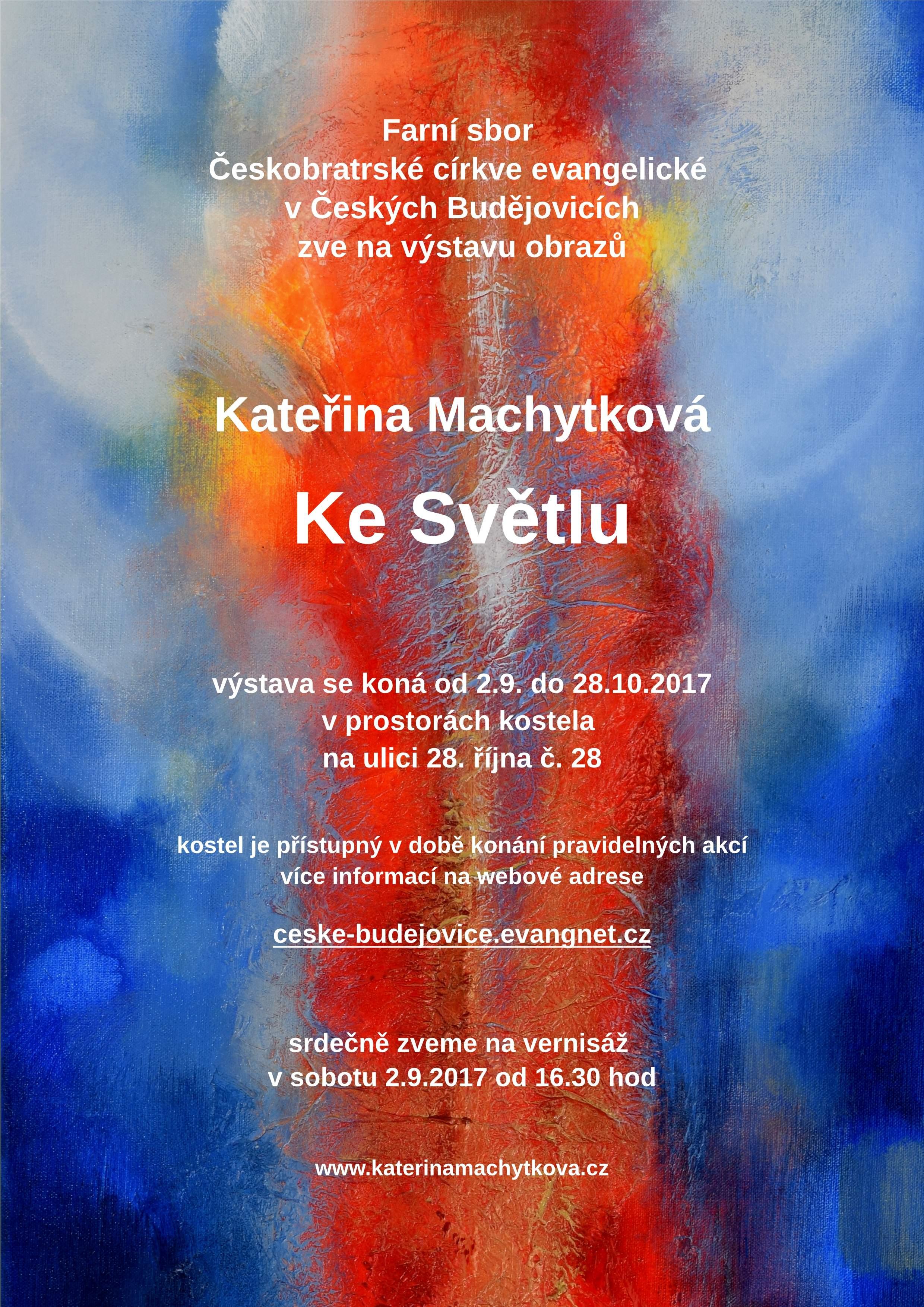 """Ausstellung """"Zum Licht"""" – České Budějovice (Budweis – Tschechien)"""