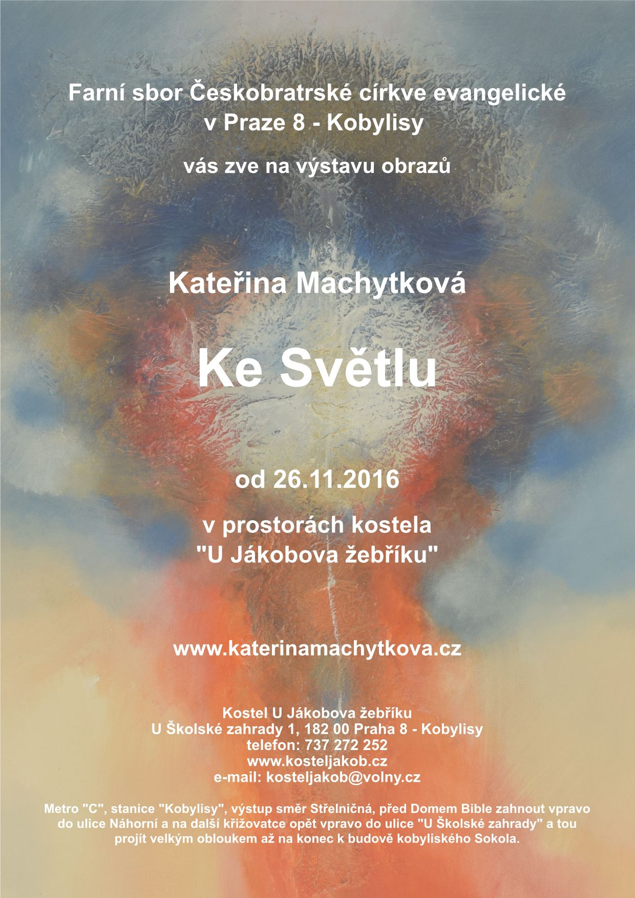 "Exhibition ""To the Light"" – Prague"