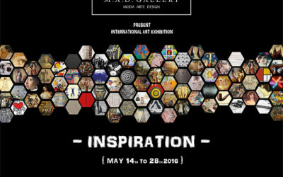 "Exhibition ""Inspiration"" in M.A.D. (Moda Art Design) gallery in Milano Italy"