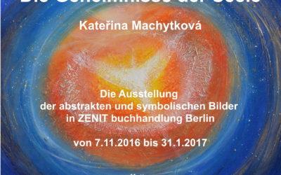 Die Geheimnisse der Seele – Ausstellung in Zenit Buchhandlung Berlin