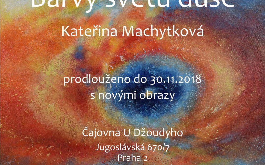 Barvy světů duše (2018) – výstava v čajovně U Džoudyho