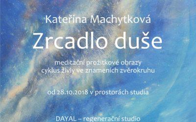 """Výstava """"Zrcadlo duše"""" – Praha regenerační studio Dayal 2018"""