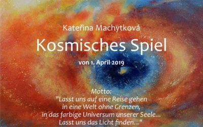 """Výstava """"Kosmická hra"""" v duchovním centru Zenit v Berlíně"""