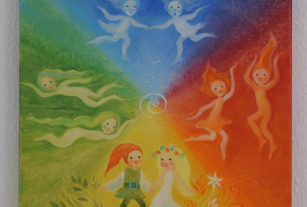 Painting for children – Four seasons, four elements (2)