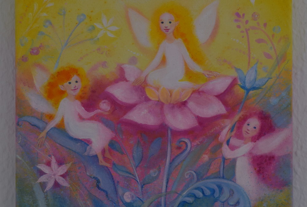 Painting for children – In the Kingdom of the flower fairies