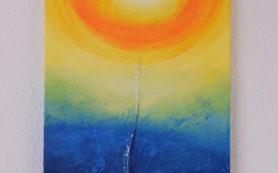 Spiritual painting – Desire for the Sun
