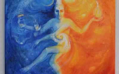Spiritual painting – Dancing Shiva
