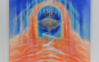Abstract spiritual painting – Gate to the Wisdom