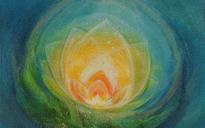 "Spiritual painting – ""Secrets of the Soul"""